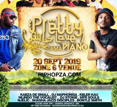Kabza De Small - Pretty Girls Love Amapiano Mix Vol. 2