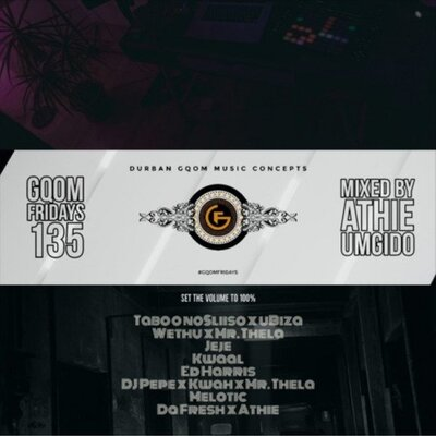 DJ Athie – Gqom Fridays Mix Vol. 135