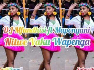 Dj Mfundisi – Nitwe Vaku Wapenga ft. Maponyani
