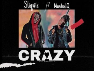 Sliqwiz – Crazy ft. MusiholiQ