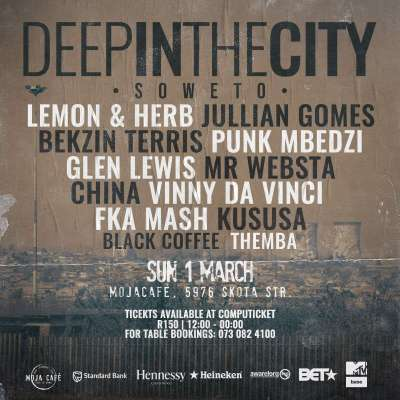 Vinny Da Vinci – Live At (Deep In The City Soweto)