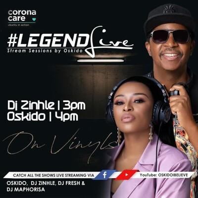 DJ Zinhle – Legend Live Mix