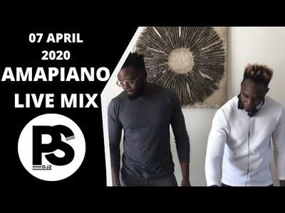 Ps Djz – Amapiano Live Mix (07 April 2020)