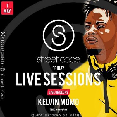 Kelvin Momo – Street Code Amapiano Live Sessions