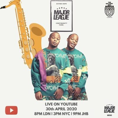 Major League – Amapiano Live Balcony Mix 13