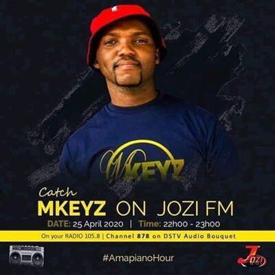 Mkeyz – Jozi Fm Amapiano Mix