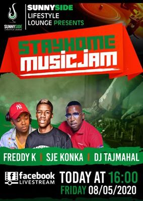 Sje Konka & Freddy K – Stayhome Music Jam