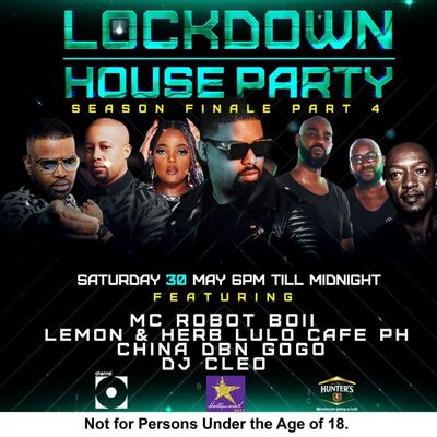 DJ Cleo – Lockdown House Party Finale Mix