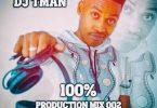 DJ T-Man – 100% Production Mix 002