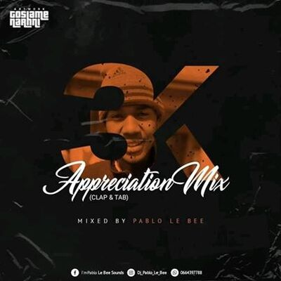 Pablo Le Bee – 3k Appreciation Mix (Clap & Tab)
