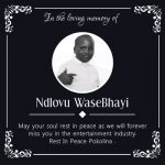 Dankie Goodness – RIP Ndlovu