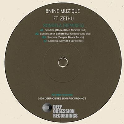 8nine Muzique – Sondela (Deeper Beats Touch) ft. Zethu