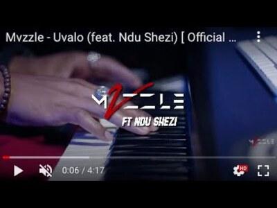 Mvzzle – Uvalo feat. Ndu Shezi (Official Video)