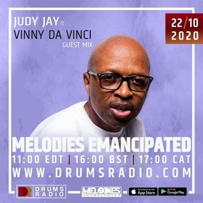 Judy Jay & Vinny Da Vinci – Melodies Emancipated (Guest Mix)