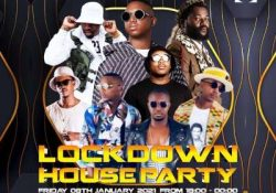 Mr JazziQ – LockDown House Party Mix (08 Jan 2021)